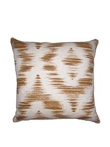 "Lacefield Designs Ikat 20"" x 20"" Pillow, Clove"