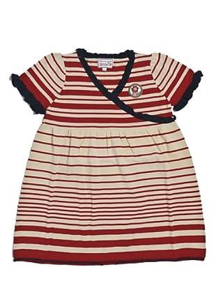 My Doll Kleid Marine (weiß/rot/blau)