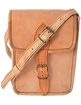 CK International Leather 2 Litres Brown Messenger Bag (CK_BAG_1038)