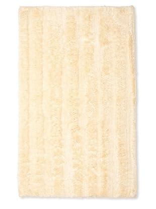 Famous International Cotton-Blend Bath Mat (Light Honey)