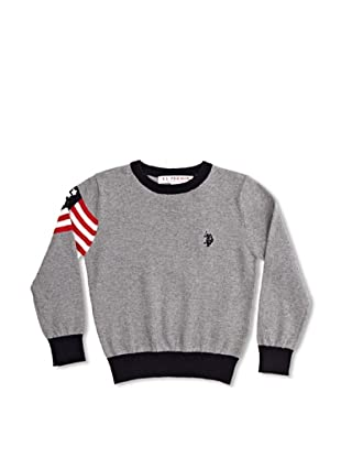 US Polo Assn Jersey Junior Joris (Gris Medio)
