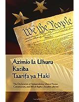 Azimio La Uhuru, Katiba, Taarifa Ya Haki