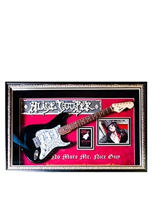 Signed Alice Cooper Guitar