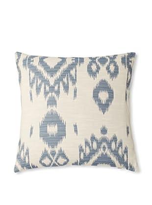 The Pillow Collection Gaera Ikat Decorative Pillow (Denim)