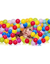 Baby Ball Pit Balls Eco Friendly Plastic Ocean Ball Pool Color Mixing Ball Pool For Kids Swimming Pool 55 Pcs/ Lot