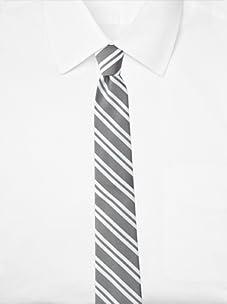 Original Penguin Men's Othello Stripe Tie (Black)