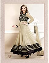 655 s3001_Evelyn sharma Cream Embroidered Ankle length anarkali suit