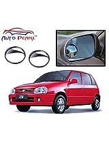 """Auto Pearl - 2 Pcs 2"""" Wide Angle Convex Rear Side View Blind Spot Car and Bike Mirror for - Maruti Suzuki Zen"""