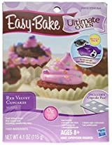 Easy Bake Ultimate Oven Red Velvet Cupcakes Refill Pack Playset, 4.1 oz
