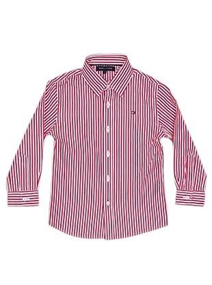 Tommy Hilfiger Camisa Rayas (Rojo)