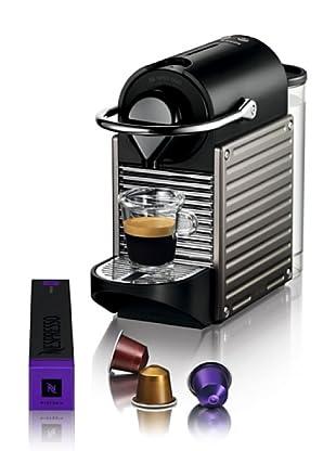 Krups Máquina de Café Nespresso Pixie Electric Titán