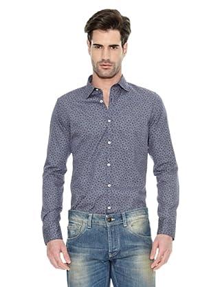 Liu Jo Camisa Estampado Topos Original (Morado)