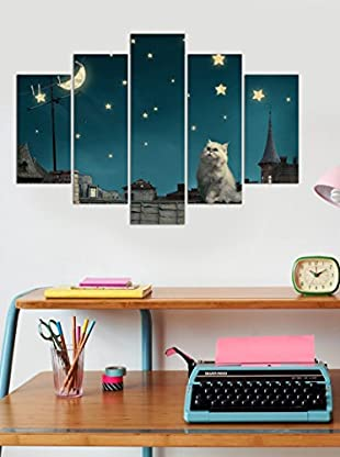 Homemania Wandbild 5er Set Mdf