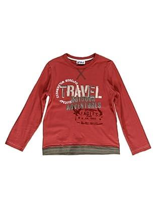 Camiseta Manga Larga Travel (Rojo)