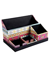 Attractive Pink Paper Office Set Elephant Printed By Rajrang