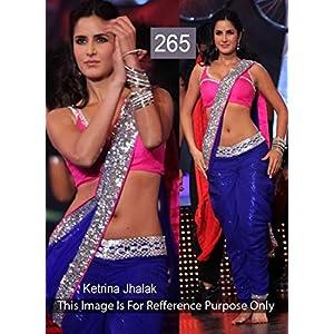Katrina Kaif Multy Bollywood Lehenga Choli, Blue