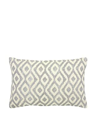 Mela Artisans Small Capri Pillow (Silver/White)