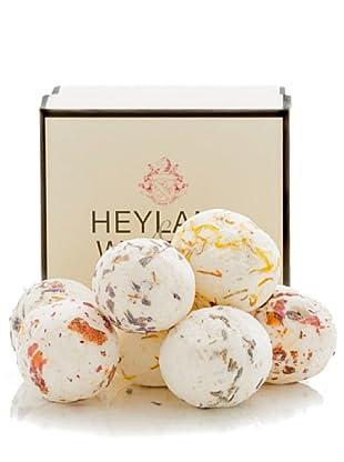 Heyland&Whittle Set 7 Bolas de Baño Fragancias Surtidas