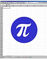calculate pi by excel without macro