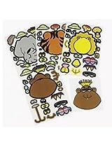 Zoo Animal Sticker Sheets (2 Dozen)