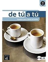 De Tu a Tu - Espanol Para Clases Privadas: Libro + CD