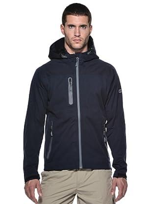 F.lli Campagnolo Softshell chaqueta Fix capucha (Azul Marino)