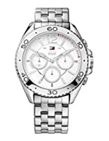 Tommy Hilfiger White Dial Analog Chronograph Watch - TH1791032