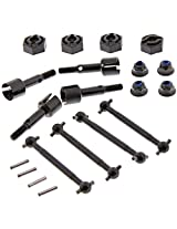 Hpi 1/10 Rs4 Sport 3 Drift * Front & Rear Drive Shafts, Axles & Wheel Hex Nuts *