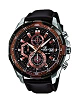Casio Edifice Stopwatch Chronograph Brown Dial Men's Watch - EFR-539L-5AVUDF (EX194)