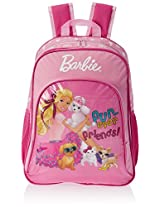 Barbie Pink Children's Backpack (EI-MAT0046)