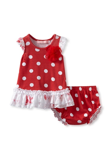 Baby Nay 2 Piece Set with Bloomer (Watercolor Pond)