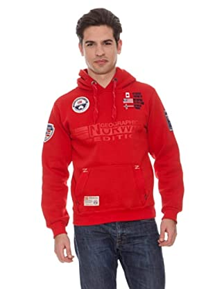 Geographical Norway Sudadera Forest (Rojo)