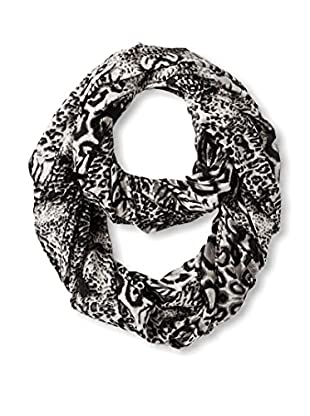 Sir Alistair Rai Women's Leopard Infinity Scarf, Black Multi