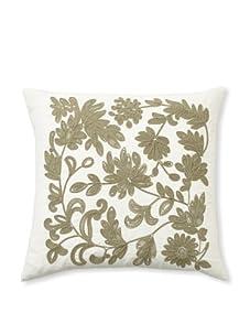 Design Accents Soutache Floral (Ivory/Olive)