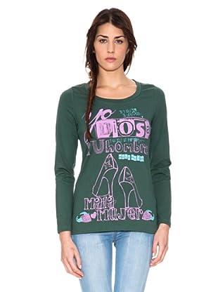 Mala Mujer Camiseta Corina (Verde)