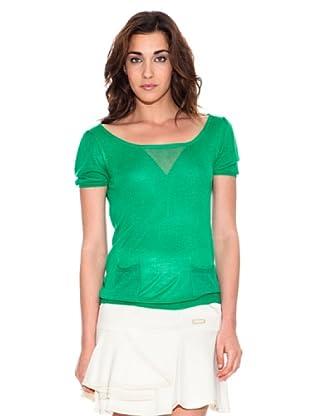Pedro del Hierro Shirt Basic (Grün)