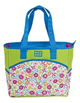 Mee Mee Multiple Pocket Diaper Bag with Changing Mat (Blue)
