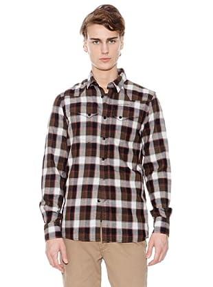 Firetrap Camisa Cuadros (Marrón)