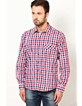 Red Casual Shirts Pepe Jeans