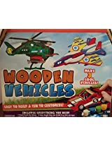 Design Your Own Wooden Vehicles Makes 3 Vehicles
