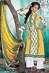 Freshen Yellow Pakistani Style Suit