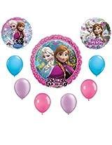 Frozen Anna & Elsa Birthday Balloon Bouquet