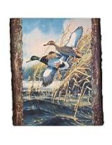 Walnut Hollow InGrained Art -  Morning Mallards by Greg Messier (Wall Art on Wood Panel)