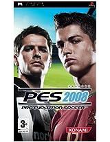 Pro Evolution Soccer 2008 (Sony PSP)