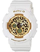 Casio Baby-G Analog-Digital Gold Dial Women's Watch - BA-120LP-7A2DR