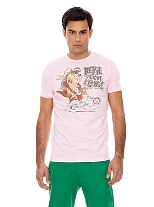 Springfield Camiseta Ma Devil (Rosa)