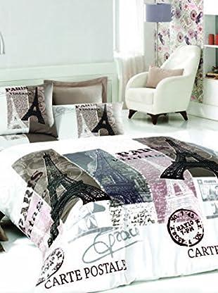 Colors Couture Bettdecke und Kissenbezug Paris