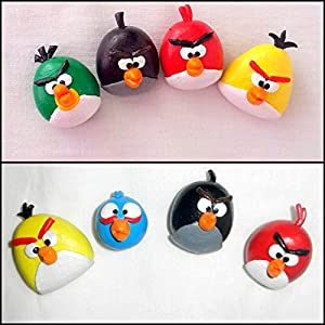 PinkFeather Angry Birds Magnets - Set Of 4