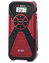 Eton American Red Cross, Multi-Powered, Smartphone Charger, Weather Alert Radio and Flashlight in One, FR1