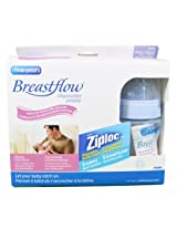 The First Years Breastflow Bottles 4oz 3pk Disposable BPA Free